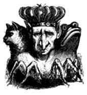 Лемегетон или малый ключ царя Соломона Первый Главный Дух - Король